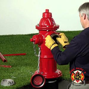 Instalação de Hidrantes contra Incêndio
