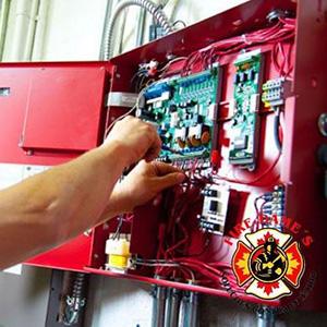 Instalação de Sistema de Alarme de Incêndio